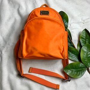 Macy's Exclusive Orange Mchael Kors Backpack